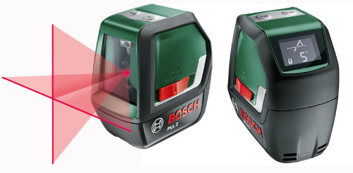 bosch release yet another cross line laser but with a twist laser level review. Black Bedroom Furniture Sets. Home Design Ideas