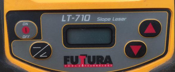 Calibration - Futtura LT-710 - Stanley RL250GR - Laser Level