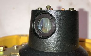 Topcon Adjustable Prism Rotating laser coning error cone issue